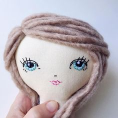 . Project: Open Eyes... Take 2 Getting closer. I feel like I might love her but I need to take a break from looking at her to get some perspective. I would love your feedback! Thoughts? • • • #evolutionofadoll #handmadedolls #handmadedoll #bramblebeauties #tinytreasures #bohodoll #handembroidery #boho #dollaccessories #nurserydecor #giftsforgirls #dollmaker #clothdoll #comingsoon #bohodoll #bohostyle #clothdoll