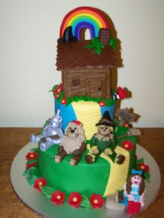 oz cake   wizard of oz - cake   Food