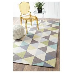 """nuLOOM 100% Wool Hand Hooked Anderson Area Rug - Green (8' 6"""" x 11' 6"""")"""