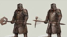 stylized dwarven statues images | Warriors of Middle Earth