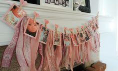 First Birthday Photo Bunting DIY with HP Sprocket