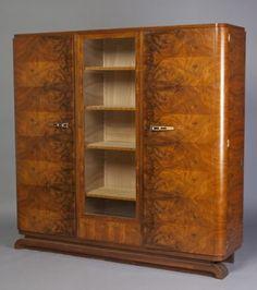 Art Deco Bookcase. @Deidra Brocké Wallace