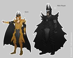 Sauron and Melkor/Morgoth Hobbit Art, The Hobbit, Sauron Face, Dark Fantasy, Fantasy Art, Das Silmarillion, Ariana Grande Cat, History Of Middle Earth, Morgoth