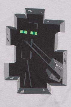 J!NX : Minecraft Enderman Inside Premium Tee - Clothing Inspired by Video Games & Geek Culture