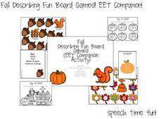 Speech Time Fun: Fall Describing Fun Board Games (EET Companion)