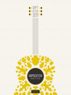 hopscotch festival poster