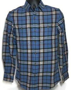 Mens Flannel Plaid Shirt Small Men Blue Tartan Lumberjack Hipster New True Craft #TrueCraft #ButtonFront #Casual Oversized Flannel Outfits, Flannel Outfits Summer, Flannel Clothing, Mens Flannel, Southern Drawl, Plaid, Tartan, Lumberjacks, Hipster