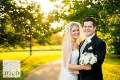 Bride and groom portrait at Newick Park hotel