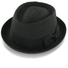 Belfry Street Fernando - Straw Braid Porkpie Men's Small BlackFrom #Belfry Hats Price: $34.00 Availability: Usually ships in 1-2 business daysShips From #and sold by Hats in the Belfry