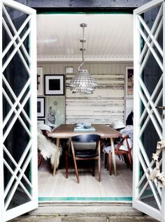 COCOCOZY: RUSTIC MODERN DINING ROOM!