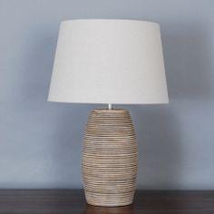 Andora Swirl Table Lamp | Dunelm