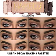 Sims 4 CC's - The Best: HallowSims Naked 3 Palette