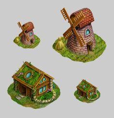 Gameart by Tatiana Maifat, via Behance