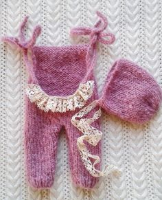 Newborn Girl Photo Prop Mohair Set, Infant Props, Photography Props, Baby Girl Props, Baby Girl Shower Gift, Baby Girl Photography Props by DreamingCarita on Etsy