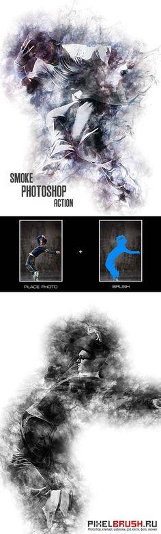 GraphicRiver Smoke - Photoshop Action