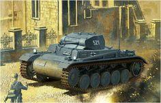 Panzer II Ausf. B Belgium, May 1940