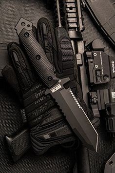 Hardcore Hardware Australia MFK-02G2 Generation 2 Tactical Survival Knife Black G-10 Black Teflon