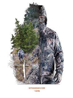 SITKA Gear Big Game Ad Campaign - Graphis