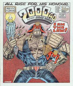 2000 A.D. #474 - Kevin O'Neill. Judge Dredd