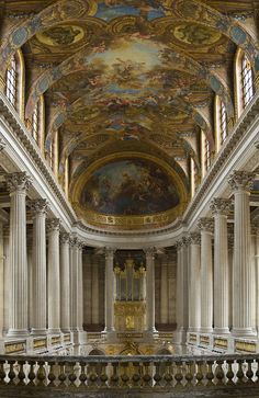 Inside the Palace of Versailles, France