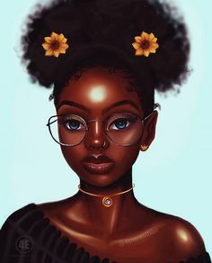 Free for personal use Afro Girl Drawing of your choice Black Love Art, Black Girl Art, Art Girl, Black Girl Cartoon, Natural Hair Art, Black Art Pictures, Art Africain, Black Artwork, Black Art