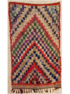 Boucherouite Rug 8#2 - 7.5 x 4.5