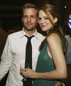 Gabriel Macht with hot, Wife Jacinda Barrett