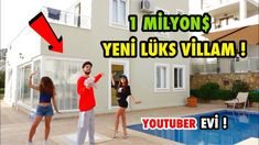 YENİ EV TURU LÜKS VİLLA ! #Vlog