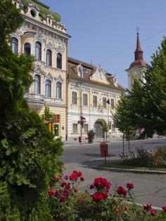 Trandafirilor Square, Targu Mures, Transylvania, Romania