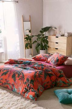 Tiny Bedrooms: Urban Outfitters