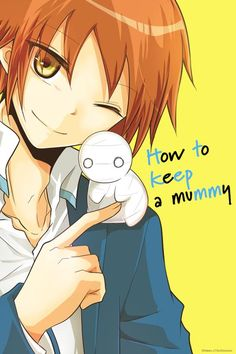 """It's a Cheerful, Undead Life in """"How to keep a mummy"""" TV Anime"""