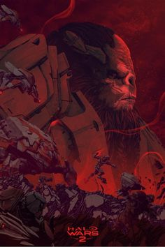'Halo Wars 2: Atriox' by Kevin Tong