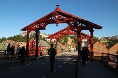 4 Freizeiten Norwegen Trondheim Brücke