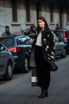 Milan Fashion Week Fall/Winter 2015 (1/2) - Street Style, Street Fashion