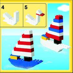 Creator - Build with Bricks - Large Tub Red [Lego 4400]