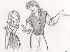 25 Pieces of Gorgeous Disney Movie Couples Concept Art
