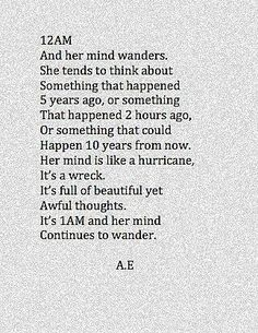 Swirling with love, unsettled things, hows, and whys.