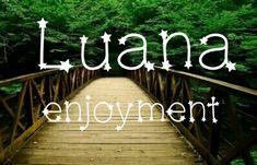 Luana Enjoyment