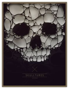 SKULLTURES by DSORDER - Marti Serra, via Behance
