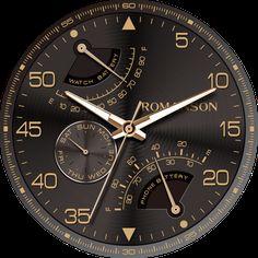Aircraft watchface by Romanson - 屏幕截图