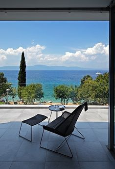 This one in Croatia. | 21 Gorgeous Beach Houses That Are Doing It Right