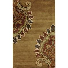 Home Decorators Collection Amour Gold 3 ft. 6 in. x 5 ft. 6 in. Area Rug - 1053410530 at The Home Depot