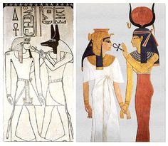 Um dos símbolos mais importantes da tradição egípcia.É encontrada a partir da quinta dinastia egípcia, mais frequentemente nos templos de Luxor, Medinet Habu, Hatshepsut, Karnak e Edfu. O Ankh pode ser encontrado no túmulo de Amenhotep II onde o deus egípcio Osíris entrega ao faraó a Ankh, que o concederia o controle sobre o principio dos ciclos naturais, conquistando assim o dom da imortalidade. No século XIX a cruz ansata foi adotada por correntes esotéricas e ocultistas do ocidente…