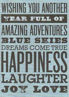 Wishing you a Year Full of Amazing Adventures...