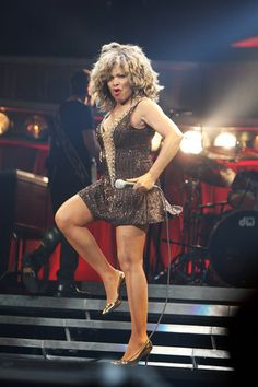 Tina Turner has earned the title The Queen of Rock 'n' Roll for her numerous awards and achievements in the rock music genre. She is known for her energetic stage presence, powerful vocals, widespread appeal, and career longevity Ike And Tina Turner, Rock N Roll Music, Music Icon, Music Genre, Music People, Female Singers, Sexy Legs, Celebs, Beautiful
