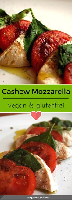Pflanzlicher Mozzarella auf Basis von Cashews. Entdeckt von Vegalife Rocks: www.vegaliferocks.de ✨ I Fleischlos glücklich, fit & Gesund✨ I Follow me for more vegan inspiration @vegaliferocks