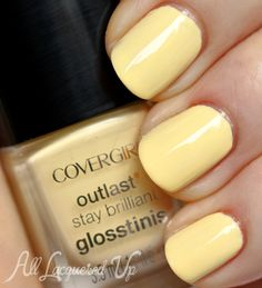 covergirl pina colada glosstinis nail polish swatch COVERGIRL Outlast Glosstinis for Summer 2013 Swatches & Review