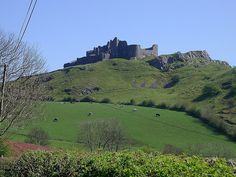 Carreg Cennen Castle, Carmarthenshire, Wales.  I have spent countless hours staring at this view. A truly peaceful and spiritual place where the only sounds you can hear are the sheep, cows and the whistling wind.