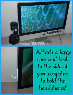 how to organize classroom computer headphones // a turn to learn.