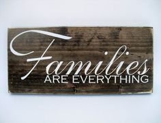 Your place to buy and sell all things handmade Family Wood Signs, Family Name Signs, Rustic Wood Signs, Wooden Signs, Handmade Signs, Handmade Home Decor, Family Is Everything, Gifts For Family, Wood Wall Art